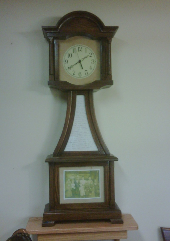 family hertitage clock